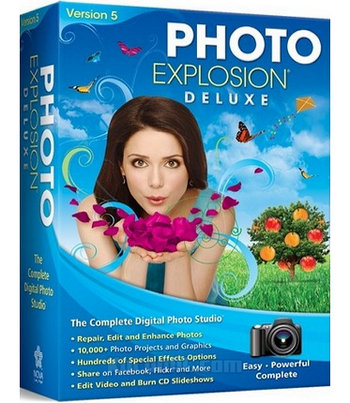 Photo Explosion Deluxe 5 Full Version