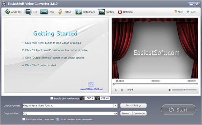 EasiestSoft Video Converter 3.8.0