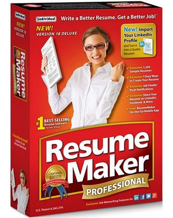 ResumeMaker Professional Deluxe 18  Resume Maker Pro