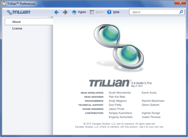 Trillian Full Version Software