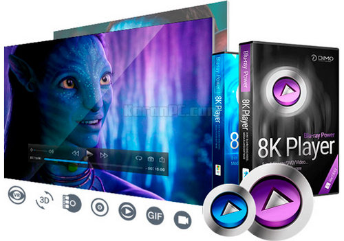 8K Player BLURAY POWER + Licencia Legal