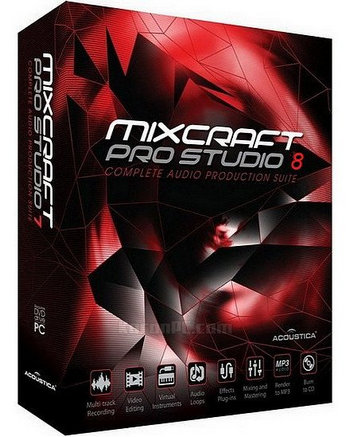 Acoustica Mixcraft Pro Studio 8 Full Version