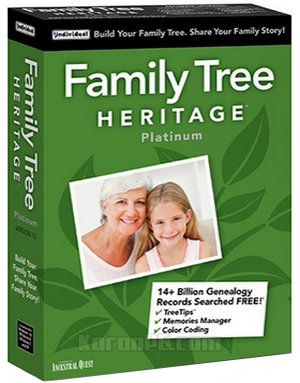 Download Family Tree Heritage Platinum