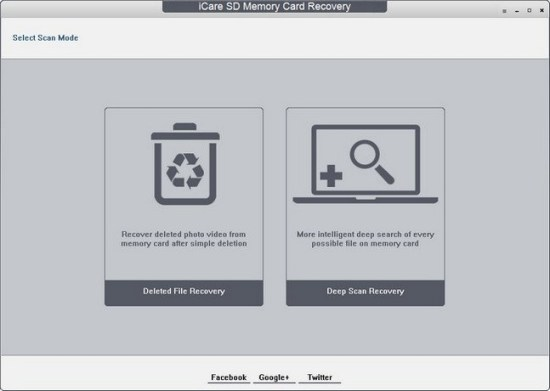 iCare SD Memory Card Recovery Portable Version