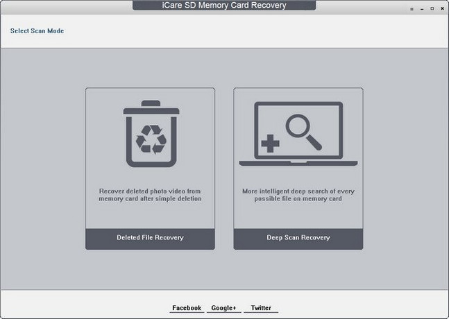iCare SD Memory Card Recovery Full Version
