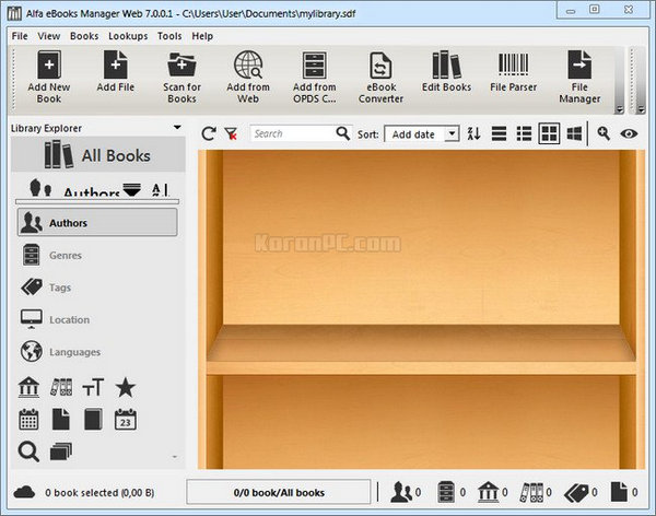 Alfa eBooks Manager Web Download Full
