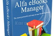 Alfa eBooks Manager Web 7.3.0.1 + Portable [Latest]