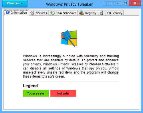 Windows Privacy Tweaker