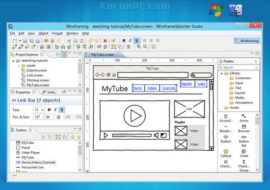 WireframeSketcher Full Download