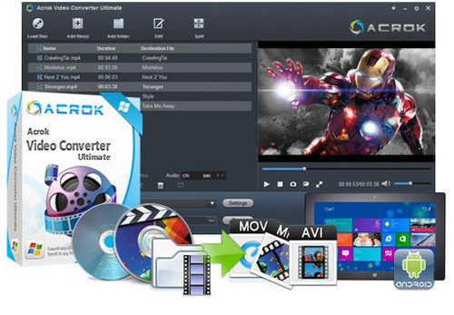 Acrok Video Converter Ultimate Full Download