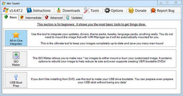 Win Toolkit Latest Version for PC