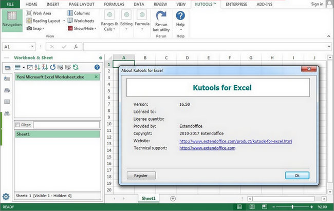 Kutools for Excel Full Version