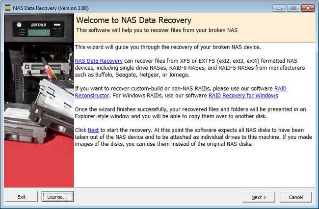 NAS Data Recovery 3