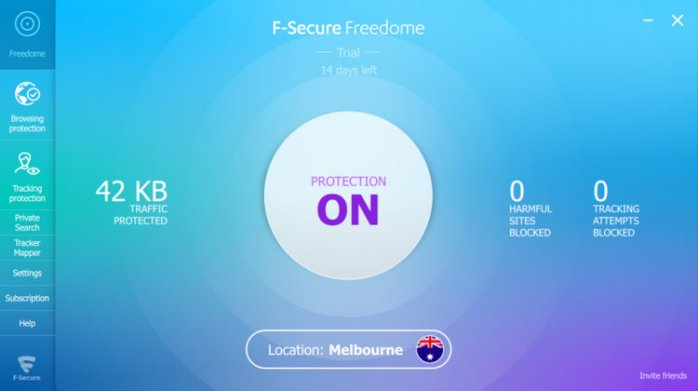 F-Secure Freedome VPN Full