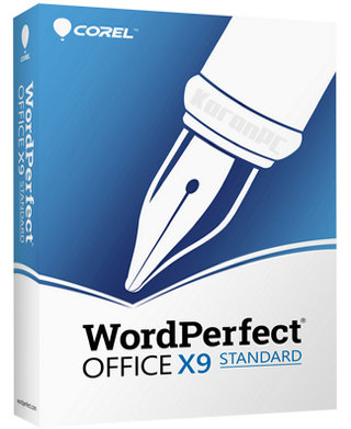 Corel WordPerfect Office X9 Standard Full Version