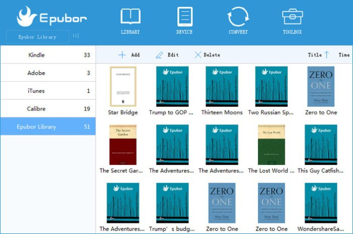 Epubor eBook Manager Full Version