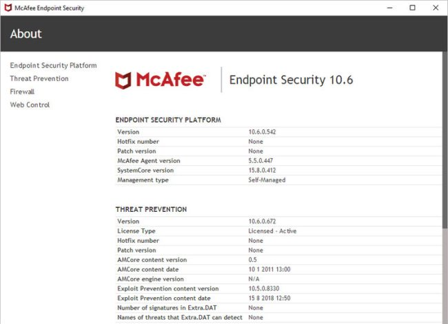 McAfee Endpoint Security Full Version