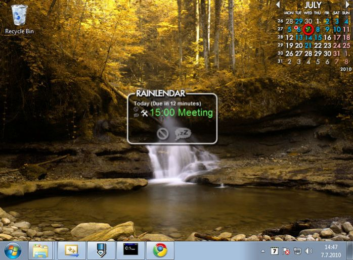 Rainlendar Pro Download