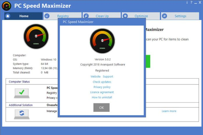 Avanquest PC Speed Maximizer Full Download