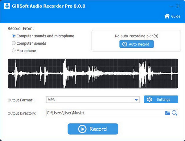 Download GiliSoft Audio Recorder Pro 8 Full