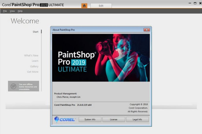paintshop pro 2018 ultimate free download