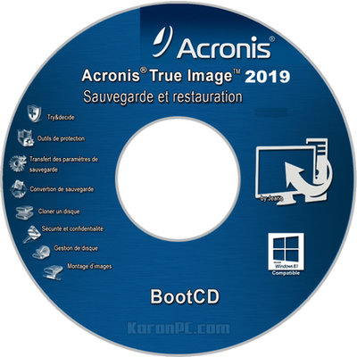 Acronis True Image ISO Bootable USB 2019 Download