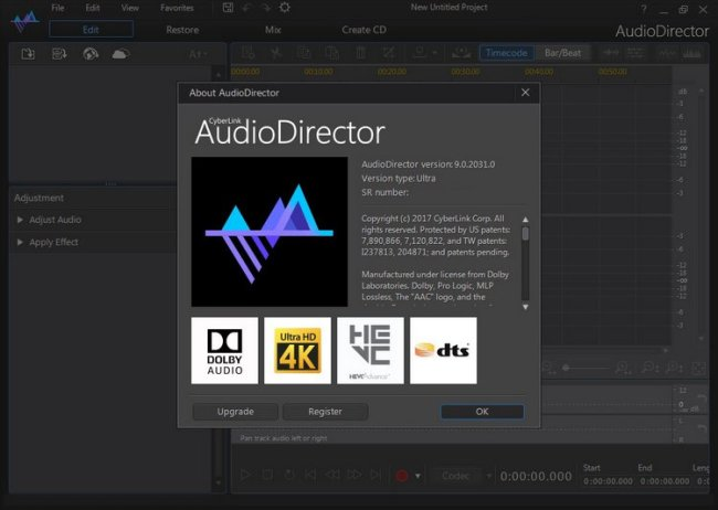 CyberLink AudioDirector Ultra 9 Full