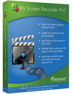 Deskshare My Screen Recorder Pro Full Download