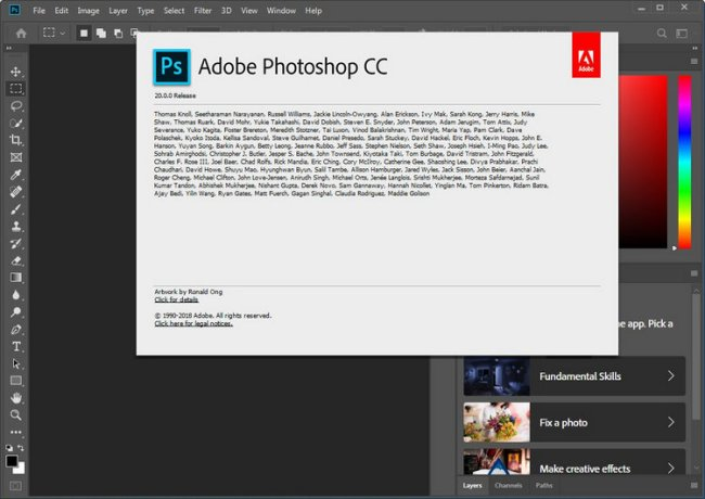 Adobe Photoshop CC 20.0.0 Full Version Download