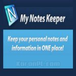 My Notes Keeper 3.9.3 Build 2218 Free Download + Portable