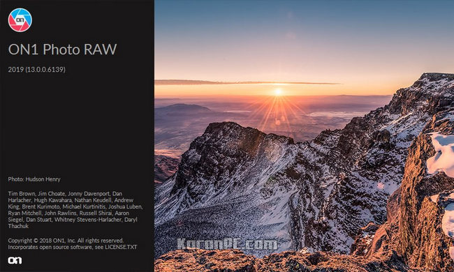 ON1 Photo RAW 2019 Full Version