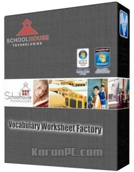 Vocabulary Worksheet Factory 6.0.6.2 Professional ...