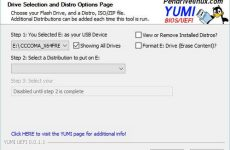 YUMI UEFI 0.0.1.1 / Your Universal Multiboot Installer