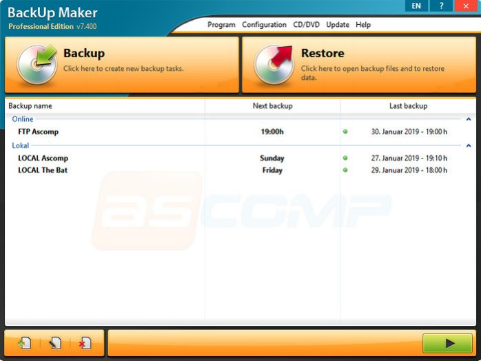 BackUp Maker Full Download