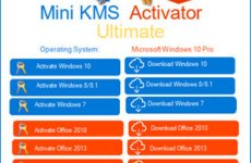 Mini KMS Activator Ultimate 1.9 Free Download