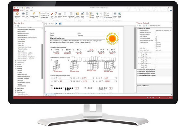 Math Resource Studio 6.1.9.0 Professional Free Download