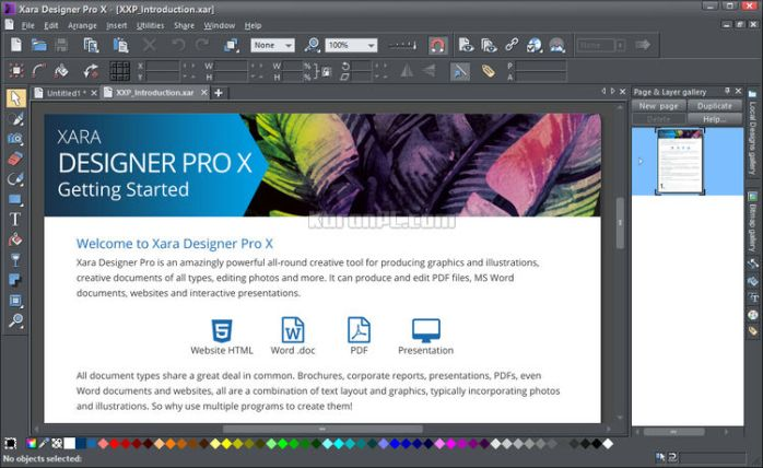 Xara Designer Pro X Download Full Version