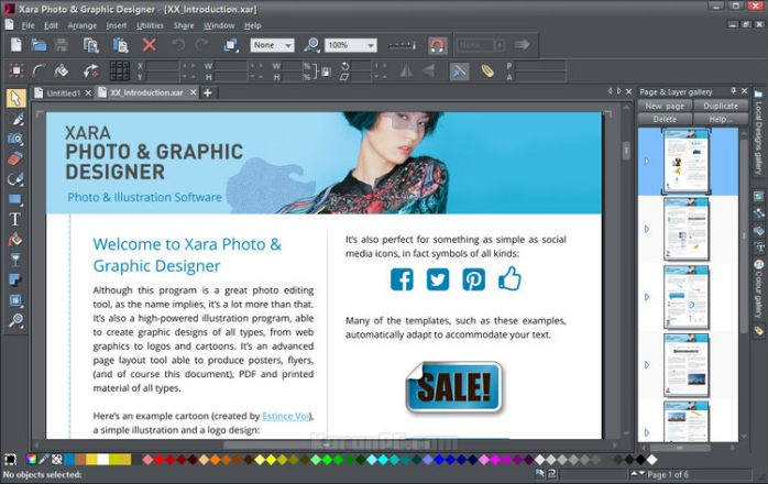 Xara Photo & Graphic Designer Full Version