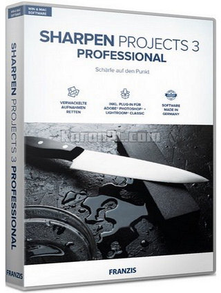 Download Franzis SHARPEN Projects 3 Professional Full