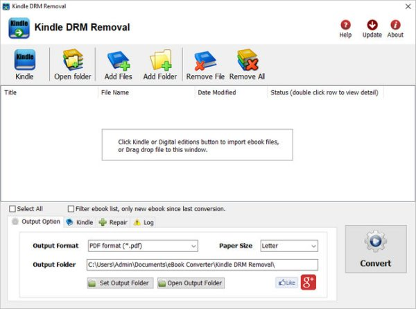 Kindle DRM Removal Full Version