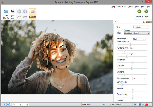 SoftOrbits Picture to Painting Converter Full Version