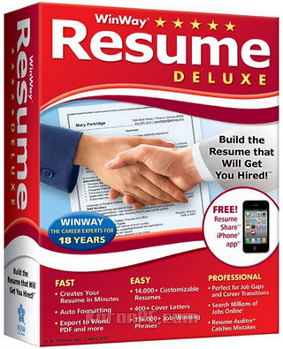 Download WinWay Resume Deluxe Full