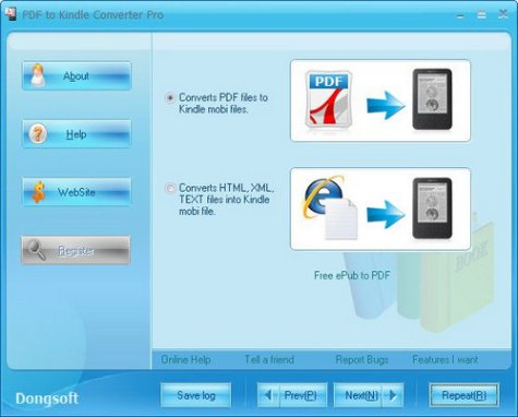 Download PDF to Kindle Converter Pro Full
