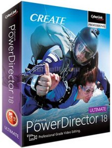 Download CyberLink PowerDirector 18 Ultimate Full