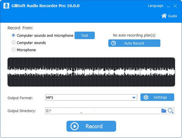 GiliSoft Audio Recorder Pro 10 Full Version