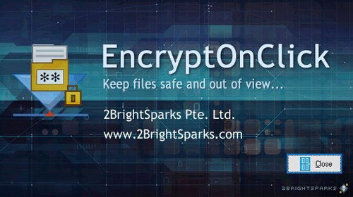 EncryptOnClick Free Version