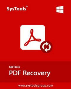 SysTools PDF Recovery Full