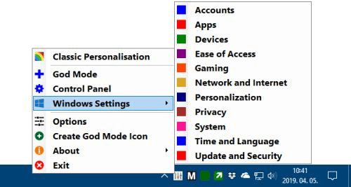 Win10 All Settings Free