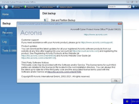 Acronis Cyber Protect Home Office Full