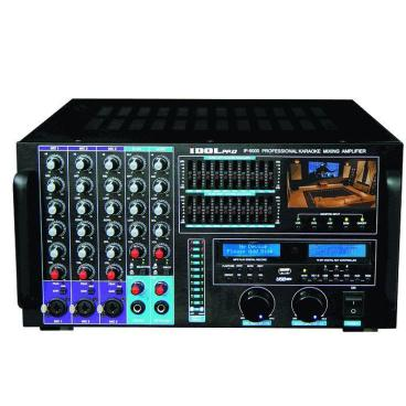 IDOLpro 1500W IP-6000 Bluetooth/HDMI/Recording/LCD Screen/10 Band Equalizer Professional Console Mixing Amplifier